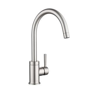 MOEN 摩恩 冷热水龙头铜体加高单把旋转水槽洗菜盆厨房龙头