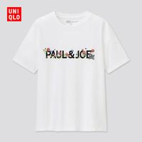 UNIQLO 优衣库 438512 PAUL & JOE 女士短袖印花T恤
