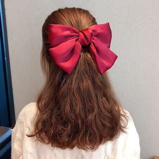 安波尔特 大蝴蝶结发夹发饰 两个装