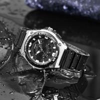 CASIO 卡西欧 手表大众指针计时防水运动男士手表