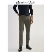 Massimo Dutti 00002002802 男士直筒裤