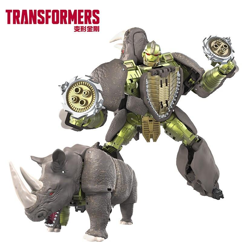 Hasbro 孩之宝 变形金刚 决战塞伯坦王国 航行家级 F0695 犀牛勇士