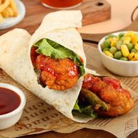 PLUS会员:辅兴坊 墨西哥鸡肉卷4个+老北京鸡肉卷4个