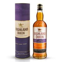PLUS会员:HIGHLAND QUEEN 高地女王 雪莉桶苏格兰调配型威士忌 700ml