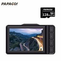 PAPAGO 趴趴狗 N291 WIFI版 迷你行车记录仪 + 128GB卡 单镜头