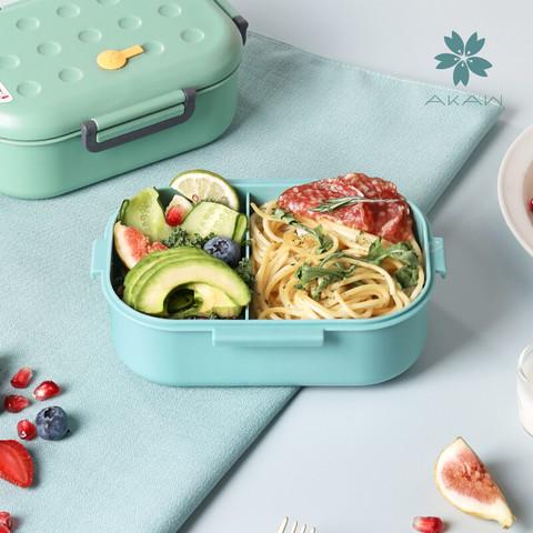 AKAW 日本AKAW爱家屋分隔塑料饭盒