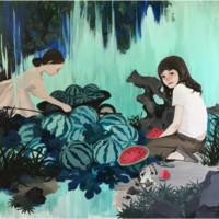 Artron 雅昌 刘晨阳签名版画《晴朗的恩赐》 52×62cm 现代简约 沙发背景墙装饰画挂画