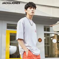 JACK&JONES 杰克琼斯 221101051 男士潮流宽松T恤