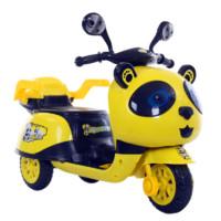 易迈尔 儿童熊猫电动三轮摩托车