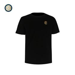 inter 国际米兰 三冠王短袖TIMELESS系列纯棉夏季运动休闲球迷男士T恤新款上衣圆领打底衫(TREBLE II)