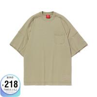 LI-NING 李宁 中国李宁BADFIVE男子宽松短袖文化衫AHSQ625
