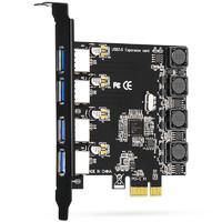 moge 魔羯 MOGE MC2016台式机PCIEx1转4口USB3.0独立供电扩展卡 瑞萨(NEC)芯片