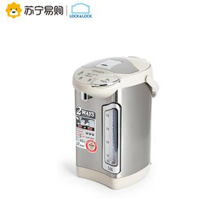 LOCK&LOCK 乐扣乐扣 5L电热水瓶 304不锈钢 三段保温除氯沸腾烧大容量电水壶不锈钢色