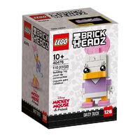 LEGO 乐高 方头仔系列 40476 唐老鸭黛西