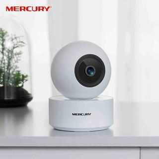MERCURY 水星网络 无线监控器360度全景高清夜视wifi手机远程安防摄像头云台家用智能网络摄像机MIPC252