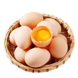 小覃同学 农家散养土鸡蛋  20枚
