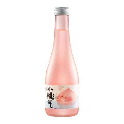 本味寒造九江双蒸 6度果酒 甜酒 微醺 桃子味125ml