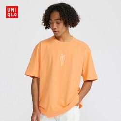 UNIQLO 优衣库 X Billie Eilish 428711 男士圆领短袖T恤