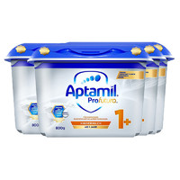 Aptamil 爱他美 6罐丨Aptamil 德国爱他美1+段白金版幼儿配方奶粉(1-3岁)800g罐德国原装进口