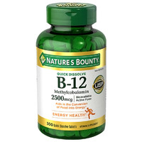 NATURE'S BOUNTY 自然之宝 维生素B12 300粒