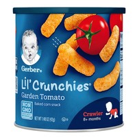 Gerber 嘉宝 儿童泡芙条 田园番茄味 3段 42g