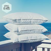 FOSSFLAKES 优质中高枕 进口枕头五星级酒店枕软枕男女单双人枕芯 48*74*18cm