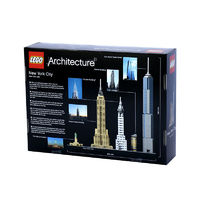 LEGO 乐高 Architecture 建筑系列 21028 纽约城