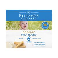 BELLAMY'S 贝拉米 有机磨牙饼干 澳版 原味 100g