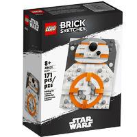 LEGO 乐高 积木素描系列 40431 素描BB-8