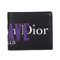 Dior 迪奥 男士皮革钱包 2NWBH027 XSR H03E 黑色