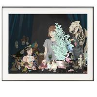 ARTMORN 墨斗鱼艺术 卜番《藏品》轻奢挂画现代简约 画芯 33x25cm 纸本微喷 50版