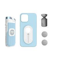 PowerVision 随动 S1 iphone 12 Pro Max版 磁吸无线充自拍杆 蓝色