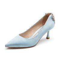 hotwind 热风 H004W1139206 女士尖头浅口单鞋