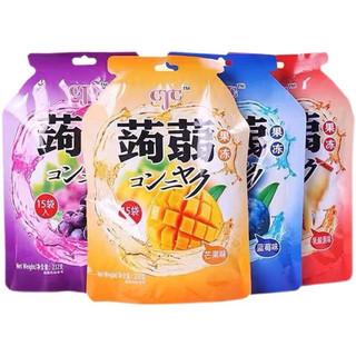 京东PLUS会员 : 蒟蒻果冻CJC袋装多口味30包464g