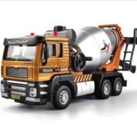 JJR/C 回力合金消防车可喷水伸缩云梯1/32金属车模玩具