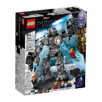 LEGO 乐高 漫威超级英雄系列 76190 铁霸王之战