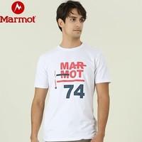 Marmot 土拨鼠 59601 男士速干短袖T恤