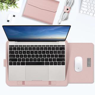 联想小新Pro13电脑包华为matebook14寸女D笔记本15内胆包15.6保护套支架mac air13.3小米12适用苹果Macbook16