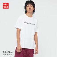 UNIQLO 优衣库 x  MICKEY MOUSE 男款印花T恤 439634