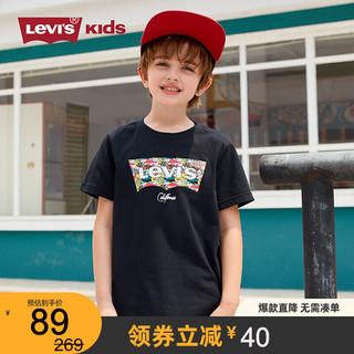 LEVI Levi's 李维斯儿童男童t恤短袖2021年夏季新款