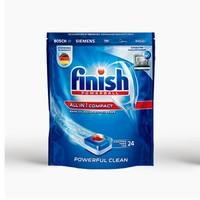 PLUS会员:finish 亮碟 洗碗机专用多效合一洗涤块 264g