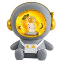 Zhiqixiong 稚气熊 动漫太空人存钱罐 可亮灯