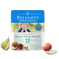 BELLAMY'S 贝拉米 有机水果干 澳版 梨苹果味 20g