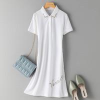 La Chapelle 拉夏贝尔 L14LP32878A01 女士简约休闲连衣裙