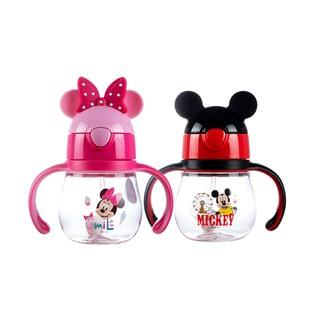 Disney 迪士尼 吸管杯婴儿童宝宝学饮杯防摔防漏防呛两用夏季水杯250ml