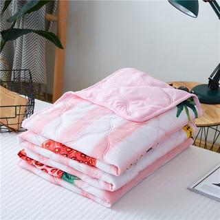 Bejirog 北极绒 夏凉被印花羽丝绒水洗棉空调被150*200cm