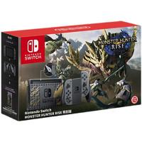 Nintendo 任天堂 Switch NS掌上游戏机怪物猎人rise崛起限定版套装 长续航 日版