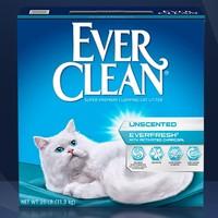 EVER CLEAN 铂钻 猫砂 白标 25磅 *2件
