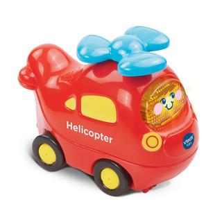 vtech 伟易达 VTech)神奇轨道车直升机 玩具男孩玩具声光音乐宝宝手推滑行小车1-5岁