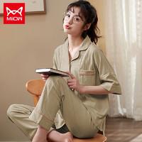 Miiow 猫人 MOUMZB4128012 纯棉睡衣套装